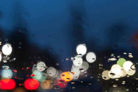How A Clean Windshield Makes Driving in the Rain Less Terrible!