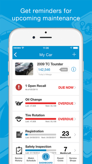 CARFIX Car Maintenance Apps