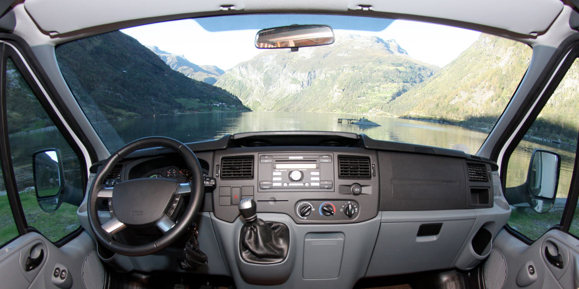 RV Panoramic Windshield replacement feature