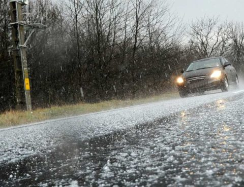 Protect your windshield from hail