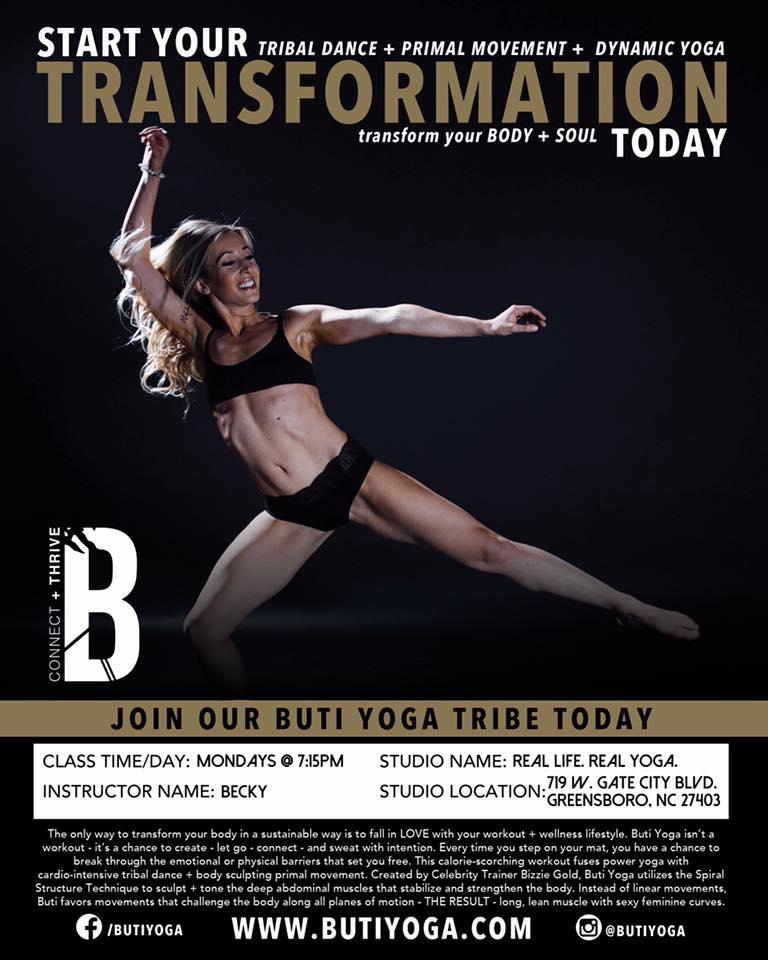 Greensboro BUTI Yoga