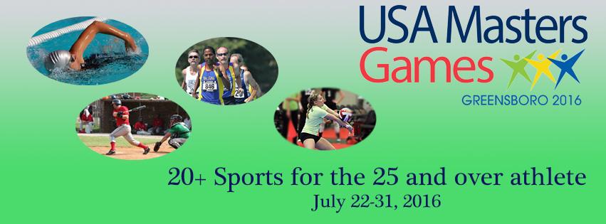 Greensboro USA Masters Games