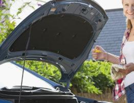 vehicle's routine maintenance