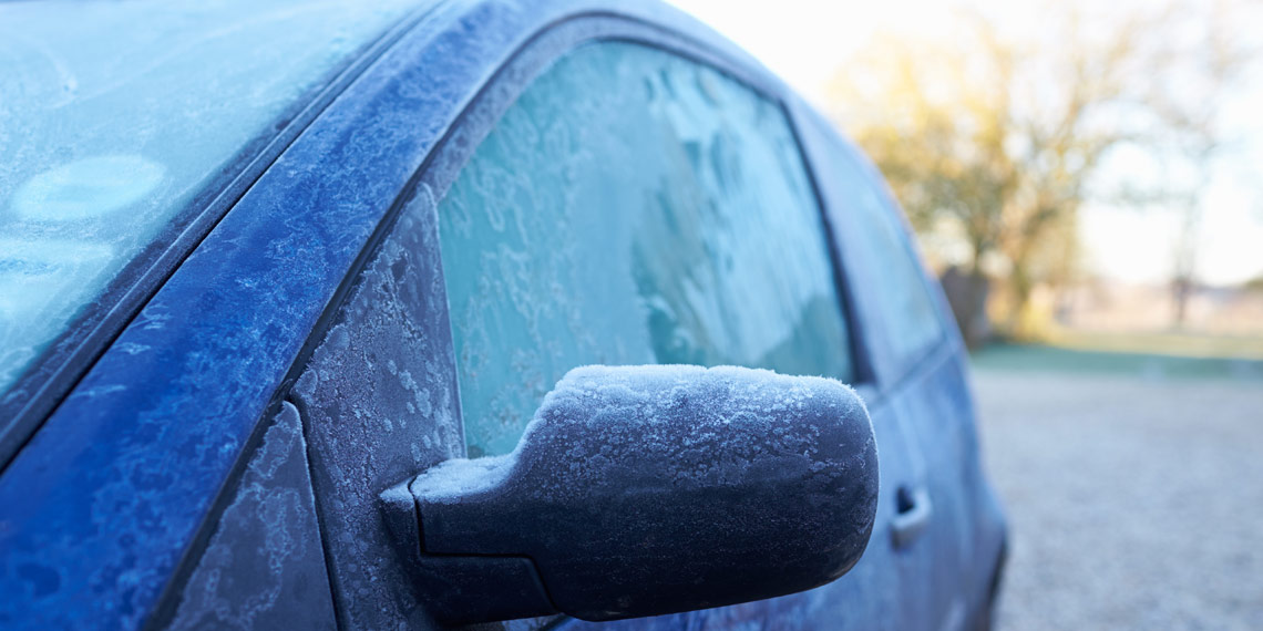 Cold Affect Windshield