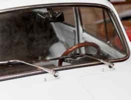 How Long Should My Windshield Last? Blog Post Featured Image of Old Car's Windshield